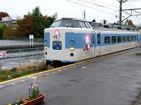 189系(富士吉田駅)3