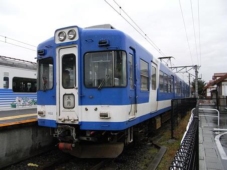 1000系(河口湖駅)