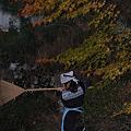 Photos: 庭掃除?