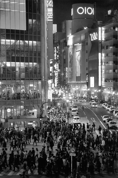 東京散歩-ひと、ヒト、人