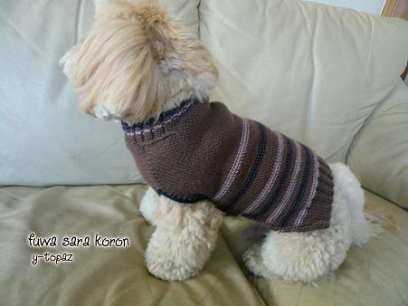 くーかいのための手編みセーター 3