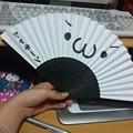 写真: この扇子可愛くて('-'*)