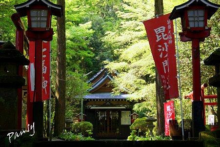 箱根 駒形神社・・2
