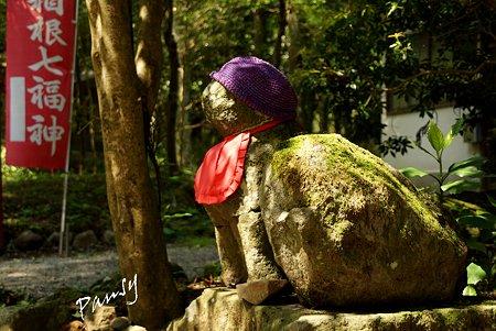 犬塚明神の狛犬・・箱根 駒形神社・・5