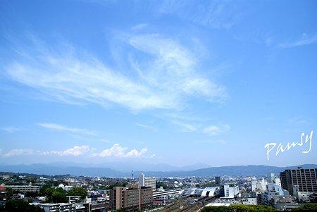雲の描く空・・