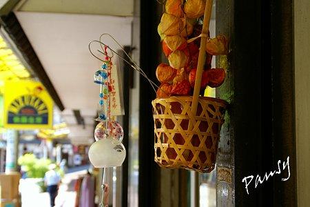 ホオズキと風鈴と・・熱海の街角・・3