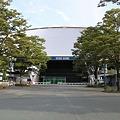 写真: 西武ドーム正面