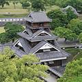 100518-67九州ロングツーリング・熊本城・大天守より宇土櫓