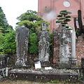 Photos: 100519-32浦上天主堂前の銅像
