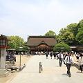 写真: 100521-64九州ロングツーリング・太宰府天満宮本殿