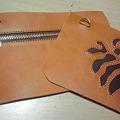 Photos: 以前作ったハワイ~な柄のデザインサンプル、可愛いポーチというかお財布になります