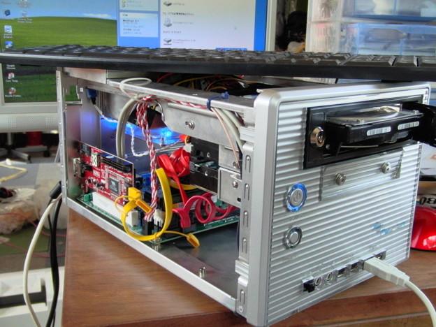 mini-ITXキューブPC