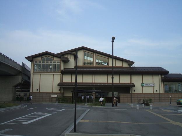 夕方の西若松駅
