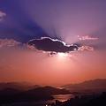 雲隠れ~初冬の空~
