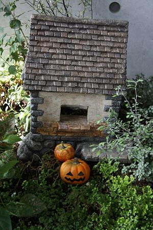 ハロウィンの始まる家