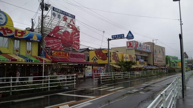 Photos: 寺泊魚市場通り