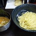 醤油つけ麺中盛り750円。