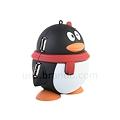 写真: USB2.0ペンギン型4ポートハブ