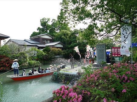柳川の川下り~水上売店