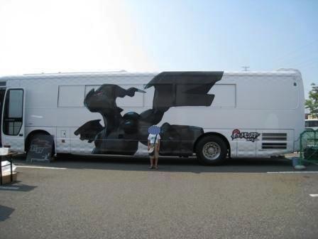 ポケモンサーチャーBWのイベント車白い方にはゼクロム