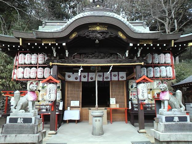 諏訪山神社 拝殿
